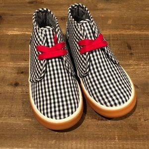 Morgan & Milo Plaid Shoe 10&11